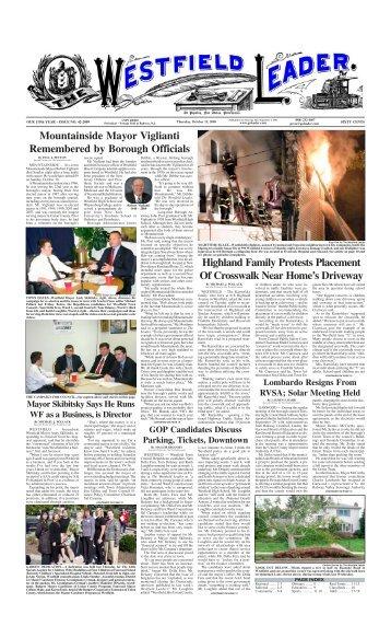 09oct15 newspaper - The Westfield Leader