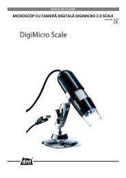 microscop cu cameră digitală digimicro 2.0 scale - German Electronics
