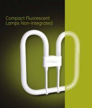 Compact Fluorescent Lamps Non-Integrated (Spectrum) - GE Lighting