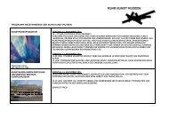 Programm Meisterwerke der Ruhr Kunst Museen - Stadt ...