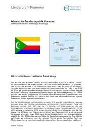 Islamische Bundesrepublik Komoren - Ghorfa
