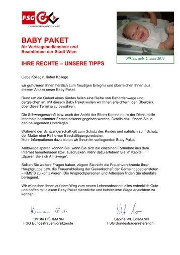 GdG-FSG BABY PAKET 2011 WIEN