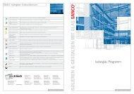 SANCO SILVERSTAR Programm - Glas Trösch Beratungs-GmbH