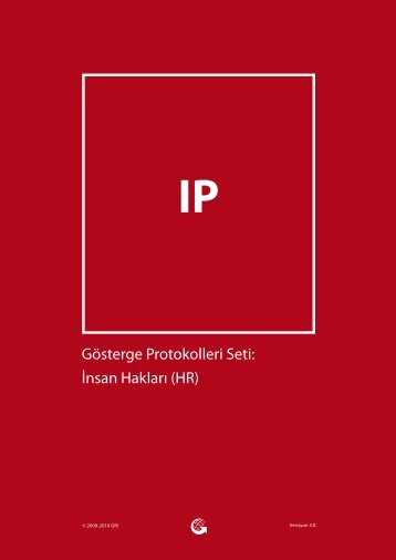 İnsan Hakları (HR) - Global Reporting Initiative