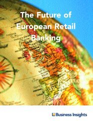 The Future of European Retail Banking - Business Insights