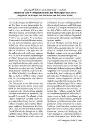 Prämissen- und Konklusionenkritik der Philosophie des Geistes
