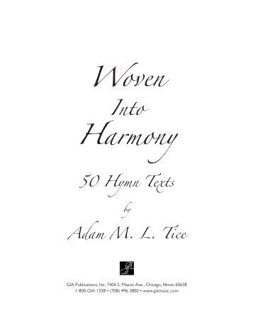 G-7542 Tice Hymnary - GIA Publications