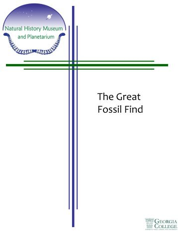 The Great Fossil Find (pdf)