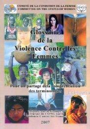 Glossaire de la violence contre les femmes - Egalité des hommes et ...