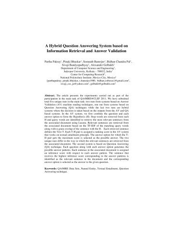 A Hybrid Question Answering System based on Information ...