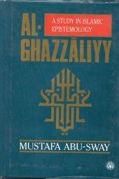 A Study in Islamic Epistemology - al-Ghazali's Website