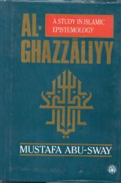 A Study in Islamic Epistemology - al-Ghazali's Website