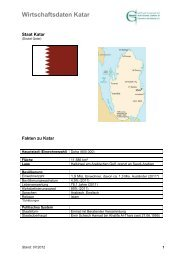 Staat Katar - Ghorfa
