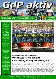GdP aktiv 2010-10-18 - GdP Mannheim