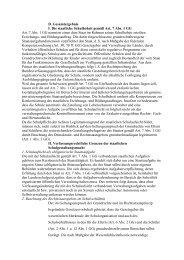 D. Gesamtergebnis I. Die staatliche Schulhoheit gemäß Art. 7 ... - GEW