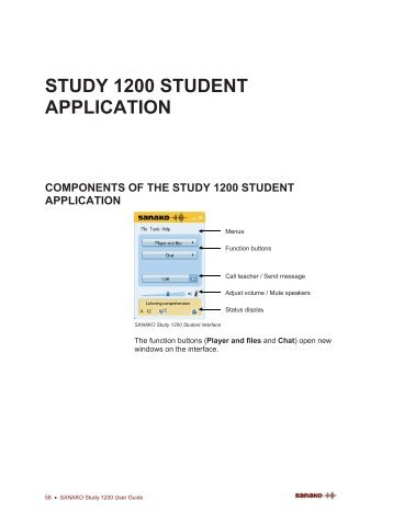 Sanako Study 1200 Student Guide