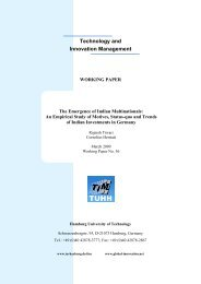 The Emergence of Indian Multinationals: An ... - Global Innovation