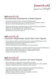tel.search.ch tel.search.ch tel.search.ch - Telefone