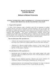 Russia - Global Methane Initiative