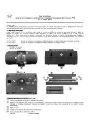 ® Mod de utilizare - German Electronics