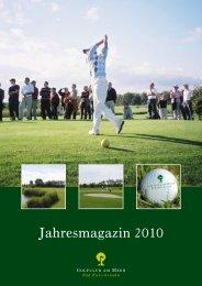 Jahresmagazin 2010 - Golfclub am Meer