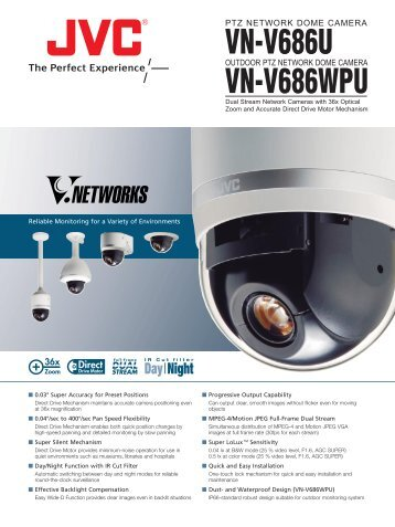 VN-V686WPU VN-V686U - JVC Kenwood