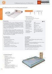 Fußbodenheizung im Dünnbett - GLAMMER Industriebedarf KG