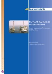 The Top 10 Asia Pacific Oil and Gas Companies - Business Insights