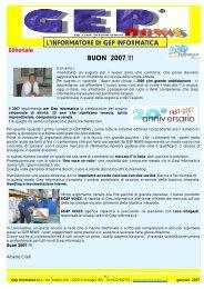 GEP NEWS GEN 2007 - GEP Informatica Srl
