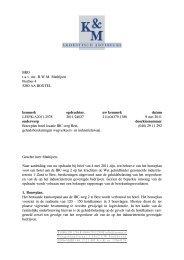15. Geluidsonderzoek bouwplan hotel locatie IBC ... - Gemeente Best