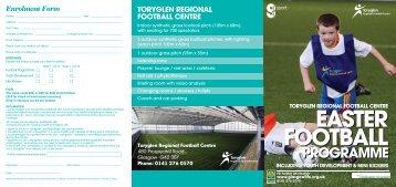Toryglen Regional Football Centre - Glasgow Life