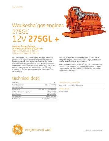 12V 275GL + - GE Energy