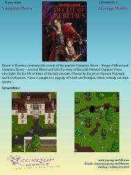 Vampires Dawn ZGroup Mobile - Get Mobile game