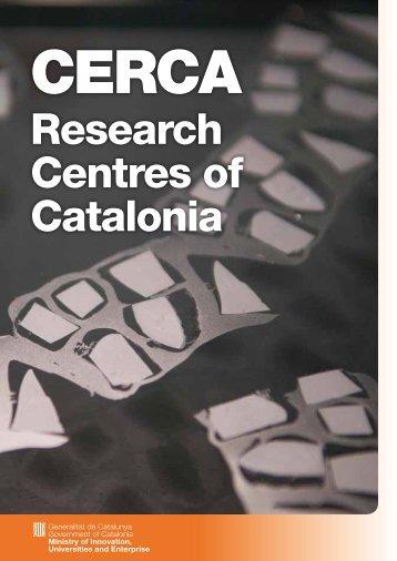 Research Centres of Catalonia - Centres de Recerca de Catalunya