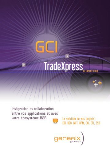 TradeXpress français V2 - Generix Group