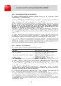 Comptes semestriels 2008 - GL events - Page 7