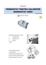 termostat pentru calorifer rondostat hr20 - German Electronics