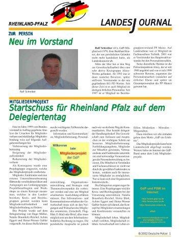 Journal August 2002 - gdp-deutschepolizei.de