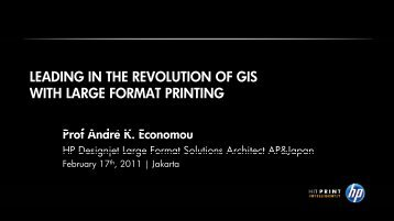 leading in the revolution of gis leading in the revolution of gis with ...