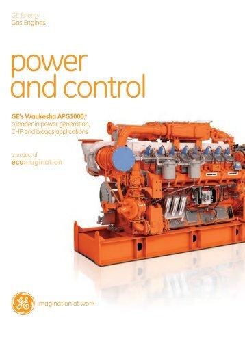 Waukesha APG Series Brochure / PDF 1030kb - GE Energy