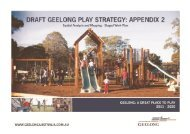 Appendix 2 (PDF - 2.3 MB) - City of Greater Geelong