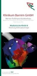 Flyer Elektrophysiologie - GLG Gesellschaft für Leben und ...
