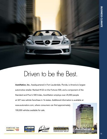 Driven to be the Best. - Broward Alliance