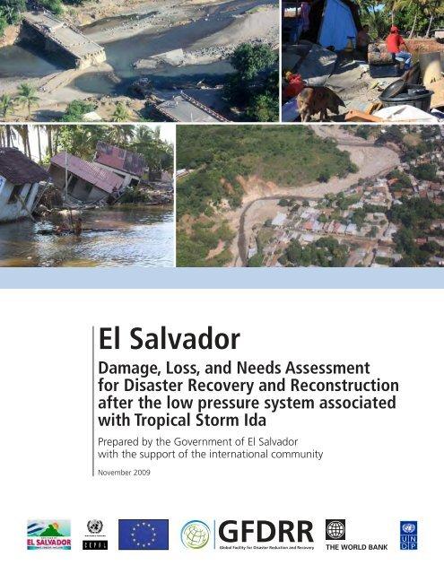 El Salvador Gfdrr