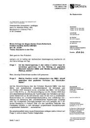 Staustufen in der Elbe/ Decin Drs.-Nr.: 5/2491 - Gisela Kallenbach