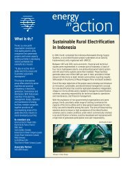 April 2004 PDF - 2 pages - Global Sustainable Electricity Partnership
