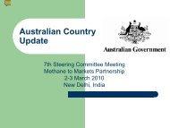 Australia - Global Methane Initiative
