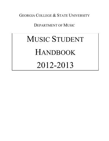 click here (pdf) - Georgia College & State University