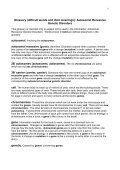 Autosomal Recessive Genetic Disorders - Genetic Alliance UK - Page 5
