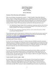Final Minutes - Global Methane Initiative